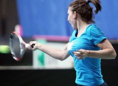 fed cup simona halep 3 Simona Halep, Dubai, Fed Cup, Tennis Players Female, Athletic, Tennis, Athlete, Deporte