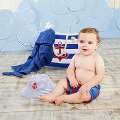 Baby Aspen is bringing you a super cute gift set. Our four-piece nautical gift set features three adorable apparel items for baby, and a tote bag for Mom. Nautical Nursery, Nautical Baby, Baby Gift Sets, Baby Boy Gifts, Baby Aspen, Baby Bath Time, Beach Gifts, Nautical Gifts, The Beach Boys