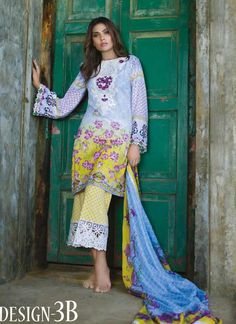 Akbar Aslam Embroidered Lawn 2017