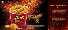 KFC-Feed your Fire Poster
