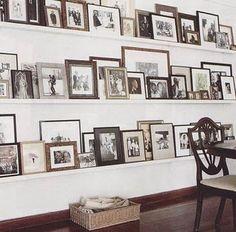 Fotografías en el salón, sin agujeros!