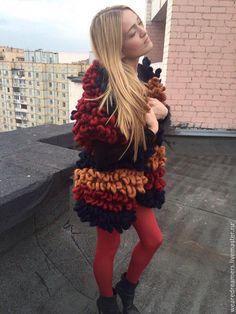 Купить Вязаный кардиган из шерсти меринос - комбинированный, кардиган, кардиган вязаный, кардиган женский Merino Wool, Dreadlocks, Hair Styles, Beauty, Hair Plait Styles, Hair Makeup, Hairdos, Haircut Styles, Dreads