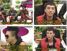 hahaha, everything TOP does is attractive ♡ ;)