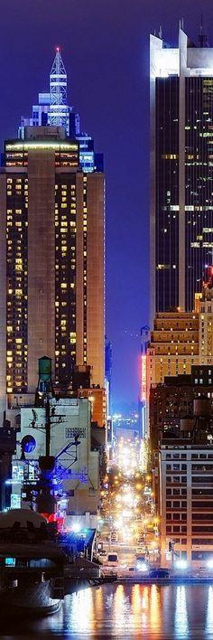 Night Lights at New York City | US