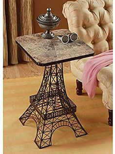 online shopping for Design Toscano Tour Eiffel Sculptural Metal Side Table, Black from top store. See new offer for Design Toscano Tour Eiffel Sculptural Metal Side Table, Black Paris Room Decor, Paris Rooms, Paris Bedroom, Paris Theme, Tour Eiffel, Paris Eiffel Tower, Eiffel Tower Decor, Bedroom Themes, Bedroom Decor