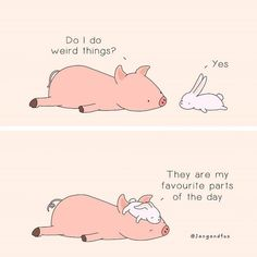 Cute Comics, Funny Comics, Happy Comics, My Favorite Part, My Favorite Things, Positive Outlook On Life, Funny Illustration, Humor Grafico, Wholesome Memes