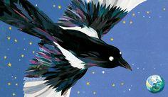 Magpie's Treasure - Andersen Press - Kate Slater Illustration