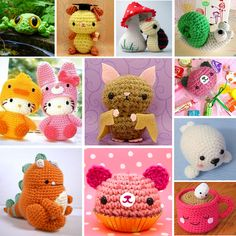 Tutorial para hacer Amigurumi, muñecos de ganchillo Japoneses - Tutorial for Amigurumi, Japanese crochet dolls