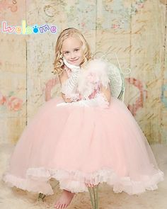 ==> [Free Shipping] Buy Best Features Organza Princess Skirts 2016 Newest Promotion Button Back Flower Girl Dress Ankle-Length Tank Festivity Party Ball Gown Online with LOWEST Price | 32562847896