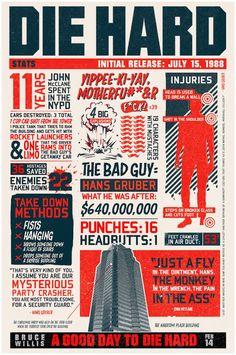 Die Hard Infography    http://www.geek-art.net/die-hard-infographics/