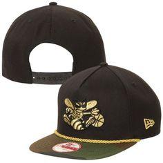 promo code 76639 57242 New Era Charlotte Hornets 9FIFTY A-Frame Hidden Metallic Adjustable  Snapback Hat - Black Camo