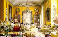 Stylish turquoise yellow living room exclusive on popi home decor