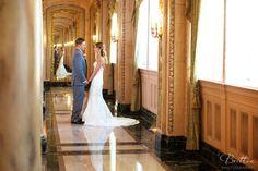 Wedding in the Isabella Ballroom. Photo courtesy of Britton Photography.