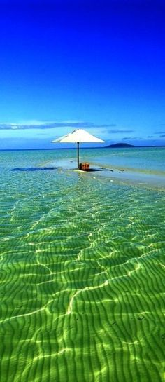 Green and Blue, Amanpulo, Philippines