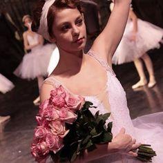 Tatia the Russian Ballerina ( Eva Dodova) who becomes engaged to Celil in the Turkish TV series Kurt Seyit ve Sura. 2014
