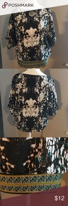 Beautiful top! Beautiful top, great for work or casual wear.😉 ECI Tops Blouses