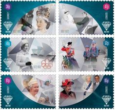 Diamond Jubilee Stamps Guernsey !