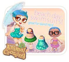 animal crossing swimsuits
