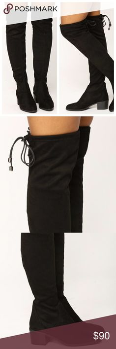 c1ee7693da4 Faux Suede Over the Knee Thigh High Boots