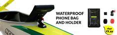 Waterproof bag and holder
