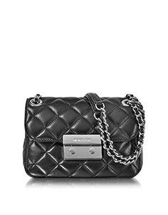 e9a8c72b363 MICHAEL Michael Kors MICHAEL BY MICHAEL KORS WOMEN S 30F5SSLL1L001 BLACK  LEATHER SHOULDER BAG. easyshopnbuy · Handbag