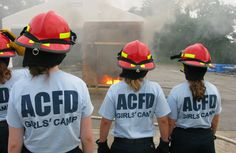 I love this: Arlington County has a girls' firefighter camp in an effort to recruit more women into the field.  I never knew!  I'd love to see my favorite Ladder 109 with a few more women.