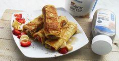 EIn schneller Snack in Windeseile: Unsere French Toast Röllchen sind die ideale Mahlzeit für Zwischendruch, wenn es mal wieder schnell gehen muss.
