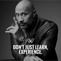 Experiences are lifes greatest lessons!