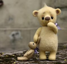 love the Pooh bear and his bunny
