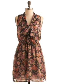 Dreams of Gardenia Dress, #ModCloth - Lovely layered over skinny ankle pants