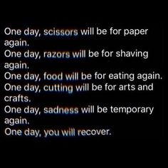 And I'll be waiting for that day!!!