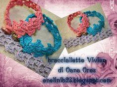 braccialetto Vivien all'uncinetto - YouTube ✿⊱╮Teresa Restegui http://www.pinterest.com/teretegui/✿⊱╮
