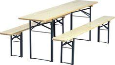Bord/bænk sæt - 50 x 220 cm - Køb hos Zederkof.