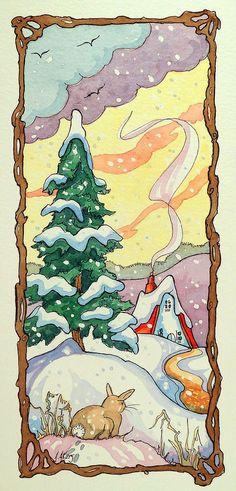 Seasons #2 Winter Storybook Cottage Series