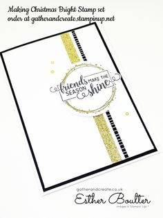 Stampin' Up! Making Christmas Bright card Homemade Christmas Cards, Stampin Up Christmas, Homemade Cards, Xmas Cards, Holiday Cards, Christmas Inspiration, Christmas Ideas, Create And Craft, Card Sketches