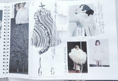 Fashion Sketchbook - fashion design development; fashion sketch; fashion portfolio // Rhianna Morton