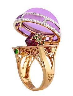 Boylerpf Antique Vintage Jewelry - Faberge Ring...