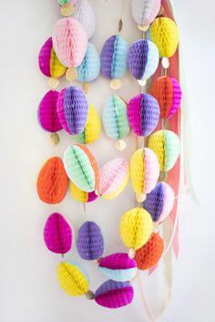 Honeycomb Easter Egg