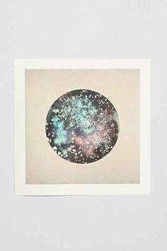 Luna Reef Deep Space Art Print - Urban Outfitters