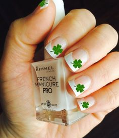 Emerald Glitter Shamrock Vinyl Nail Decals - Variety Size, St. Patrick's Day, Saint Paddy's Day, Four 4 Leaf Clover by BKMVinylDesign on Etsy https://www.etsy.com/listing/223237827/emerald-glitter-shamrock-vinyl-nail
