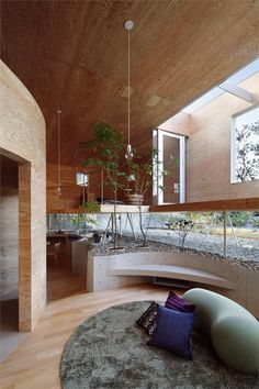 Pit House, Tamano, Okayama, 2011 by  UID Architects & Associates    #house #japan #stair