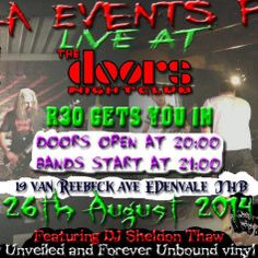 Guerrilla Events - Finally, The Doors Nightclub hears the cries of local metal heads and are bringing live acts to the venue! Thirty cheap ass bucks and your're in for a treat!