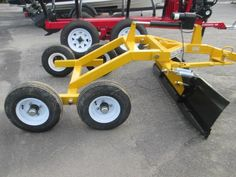 Image associée Agricultural Implements, Tractor Implements, Trailer Axles, Atv Trailers, Small Tractors, Old Tractors, Metal Projects, Welding Projects, Tractor Accessories