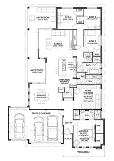 Find your perfect new home design at Gemmill Homes. View our house plans now! Duplex Floor Plans, Home Design Floor Plans, House Floor Plans, Best House Plans, Dream House Plans, House Plans Australia, Circle House, Floor Layout, Bungalow House Design