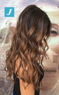 11 Amazing Examples of Black Cherry Hair Colors in 2019 - Style My Hairs Brown Ombre Hair, Brown Hair Balayage, Brunette Hair Highlights, Color Highlights, Cabelo Ombre Hair, Cherry Hair, Hair Shades, Great Hair, Gorgeous Hair