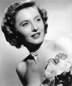 """Vintage Glamour Girls: Barbara Stanwyck in """" No Man of Her Own """""""