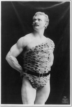 Old School Strong Man... Eugen Sandow... :D