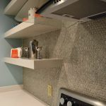 Open shelving in the kitchen - The Affordable Companies