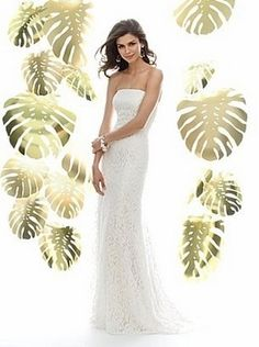 After Six Wedding Dresses by Dessy 1016