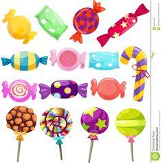 ilustraciones de caramelos - Buscar con Google